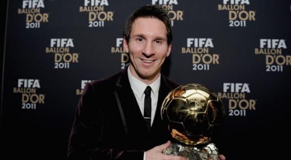 Lionel Messi fue premiado con el Balón de Oro