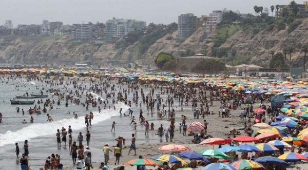 Playas adecuadas para los bañistas