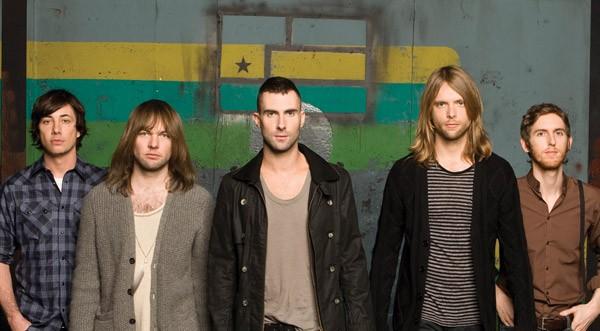 Maroon 5 se llevó el premio como la Banda Favorita en los People's Choice Awards 2012