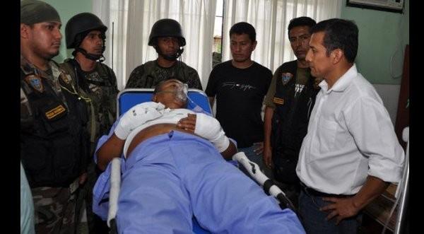 Ollanta Humala se encontró con 'Artemio'