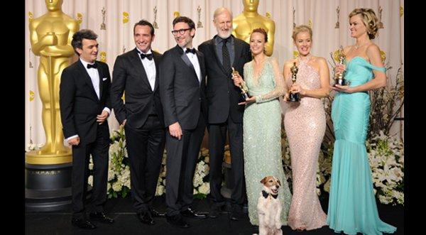 """""""The Artist"""" se llevó el Óscar como Mejor Película"""