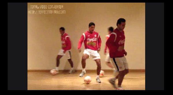 Selección peruana entrenó en Madrid