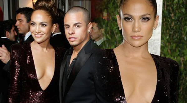 J.Lo se lució junto a su novio en fiesta de Vanity Fair