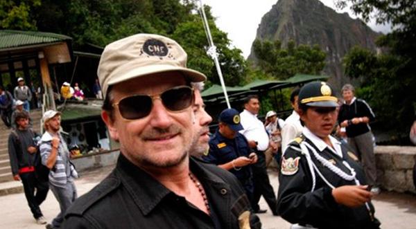 Bono está en Madre de Dios