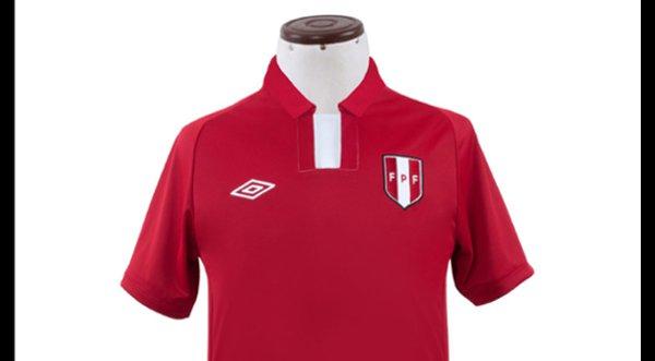 Perú estrenará hoy nueva camiseta