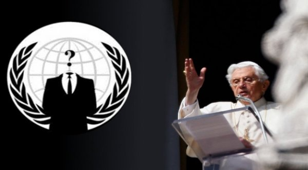 Colectivo Anonymus ataca web del Vaticano