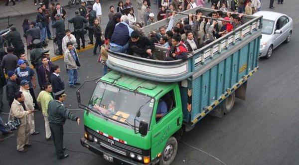 Más de 20,000 transportistas participarán en paro, afirman