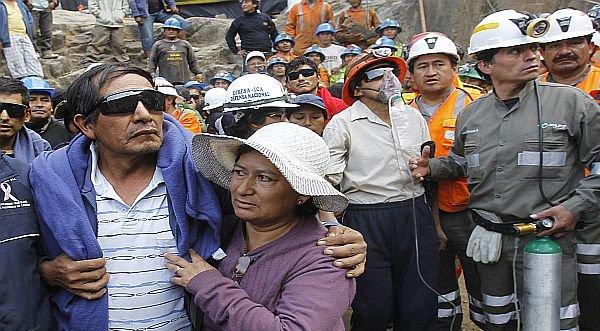 Mineros atrapados en Ica fueron rescatados