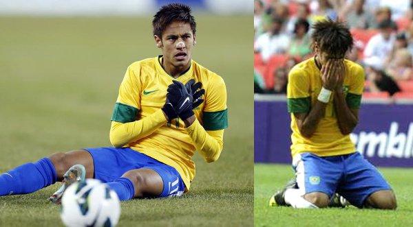 Video: Neymar falló penal y lo mandó hasta las nubes
