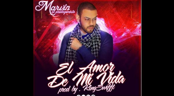 Marvin 'el protagonista' presentó el video lyric de 'El Amor de mi Vida'