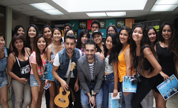 Meet and Greet con Alkilados en Onda Cero