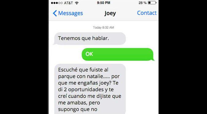 ¡Te vas a reír! Niña de 11 años termina con su novio por mensaje de texto  – FOTOS