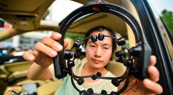 ¡Futurista! Presentaron auto que se maneja con la mente - FOTOS