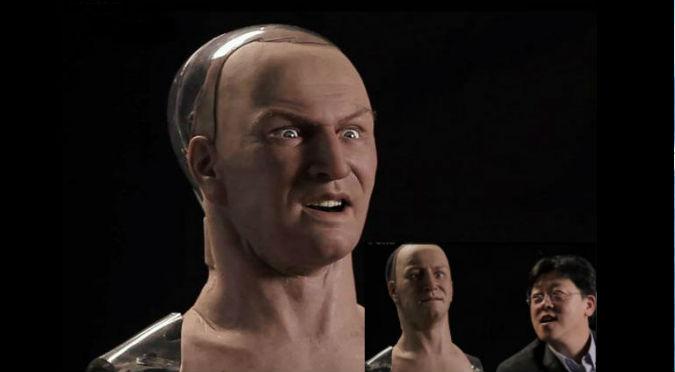 ¿Ya viene Terminator? Han, el robot que sería el más 'humano' del mundo - VIDEO