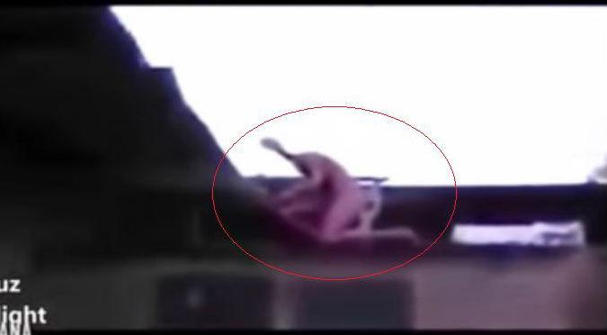 ¡WTF! Extraño humanoide grabado en México causa pánico en redes – VIDEO