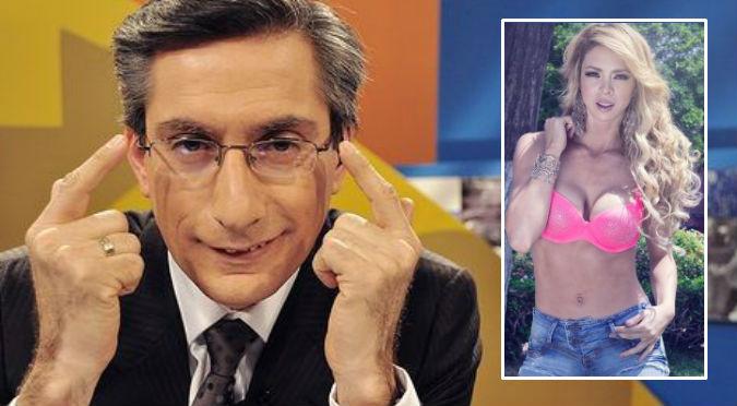 Federico Salazar 'ninguneó' a Sheyla Rojas en vivo