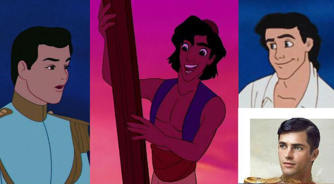¡Sorprendente! Así lucirían los príncipes de Disney en la vida real – FOTOS