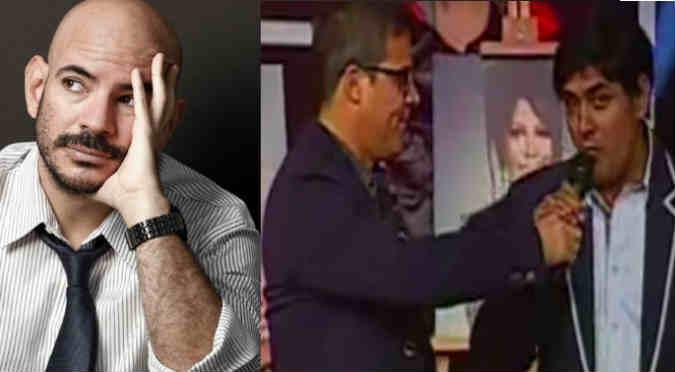 ¿Qué hizo Ricardo Morán ante insulto de imitador de 'Yo Soy'? - VIDEO