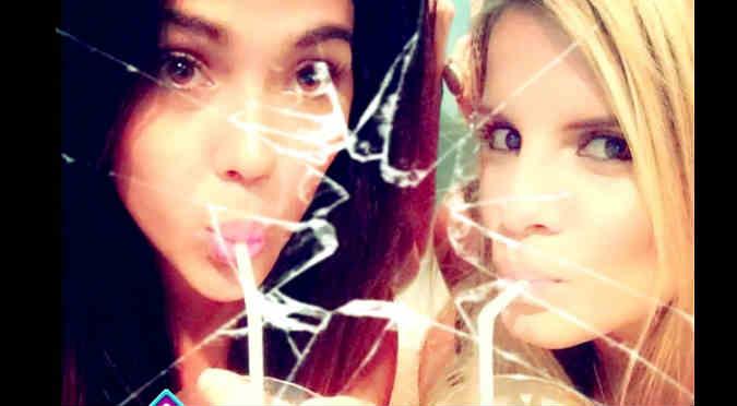 ¿Qué pasó? Vania Bludau y Alejandra Baigorria ya no son amigas - VIDEO
