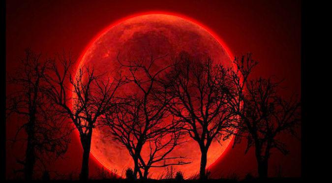 ¡Aterrador! Fin del mundo ocurriría en septiembre, en la 'Luna de sangre'