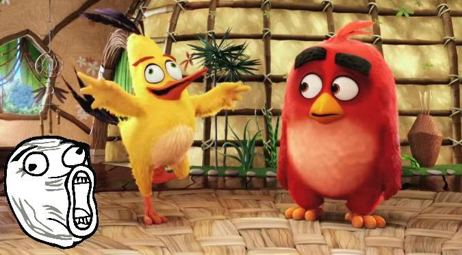 ¡Recontra molestos! Mira el primer tráiler de la película de Angry Birds – VIDEO