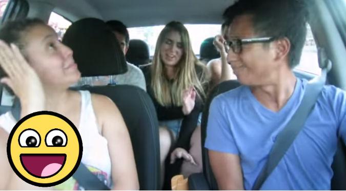 ¡Taxista chévere! Cantó y bailó 'Uptown Funk' con todos sus pasajeros – VIDEO