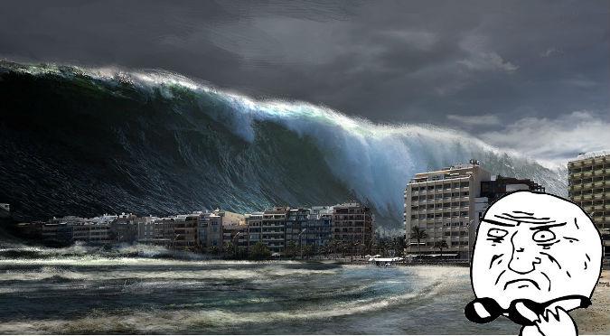¿Otro fin del mundo? Mega tsunami ocurriría pronto y acabaría con la Tierra