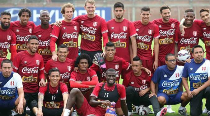 ¡Los convocados! Mira la foto que revelaría el once de la selección peruana