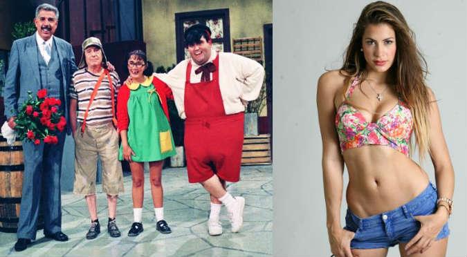 ¿Qué personaje del 'Chavo del ocho' actuará con Milett Figueroa?