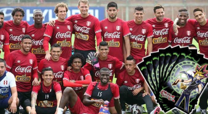¡Al poder! ¡Mira que cartas de Yu-Gi-Oh serían los jugadores de la selección peruana!