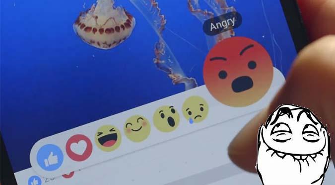 ¡Por fin! Facebook lanzará botones 'me entristece' y 'me enfada' - VIDEO