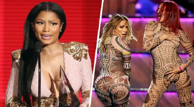 La odia: Nicki Minaj  demostró que no soporta a Jennifer Lopez - VIDEO