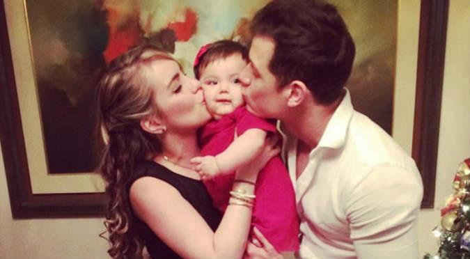 ¡Awww! Gia, la hija de Gino Pesaressi, demostró toda su coquetería – VIDEO