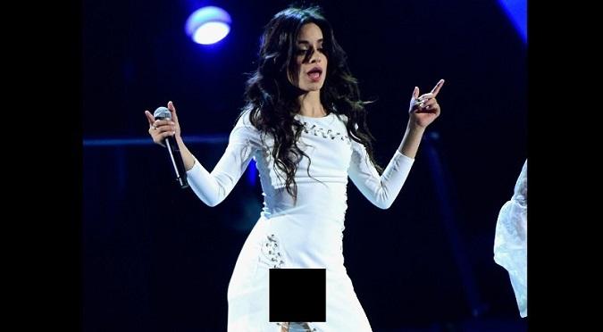 Fifth Harmony: ¿Se le vio o no se le vio todo a Camila Cabello? - VIDEO