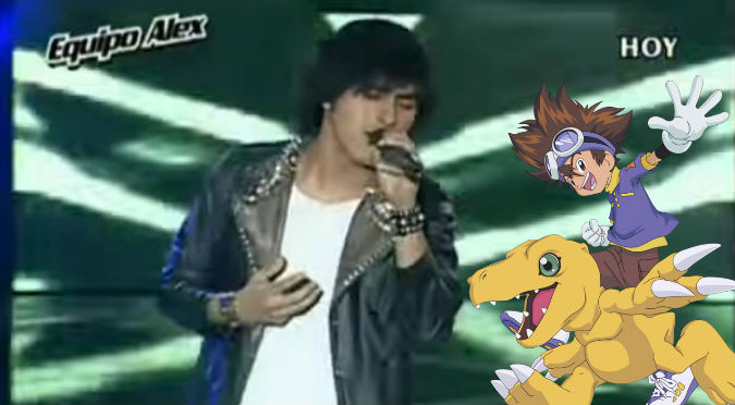 La Voz Perú: Jefferson Tadeo nos devolvió a la infancia con tema de Digimon - VIDEO