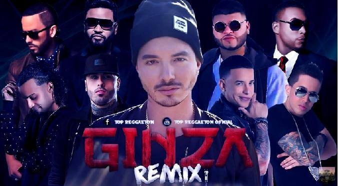 J Balvin: ¡Escucha aquí el remix de Ginza!