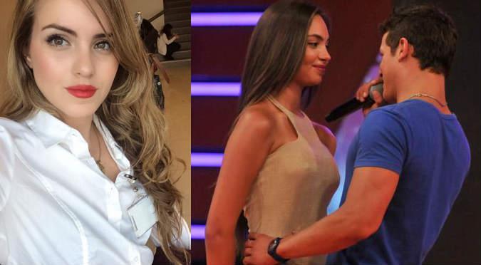 ¡Uyuyuy! Mariana, novia de Gino Pesaressi, siente celos de Natalie Vértiz  - FOTO