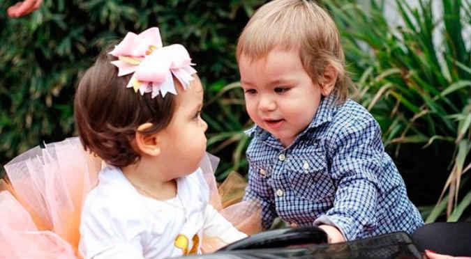 ¡Awwww! Mira el video más tierno de Liam y Gia