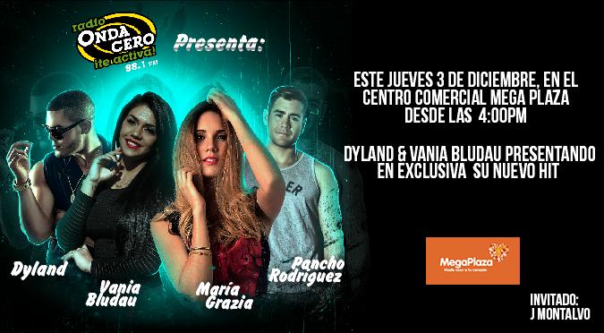 ¡Onda Cero presenta a Pancho Rodríguez, Vania Bludau, Dyland y María Grazia Gamarra en vivo!