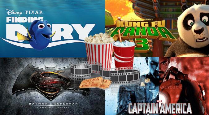 ¡Canchita todo el año! Estas son las 50 imperdibles películas que se estrenan este 2016