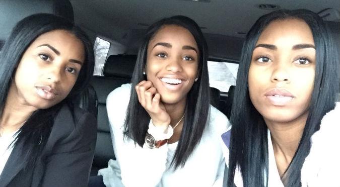 Twitter: ¿Puedes adivinar quién de las tres es la mamá? Foto ya es viral