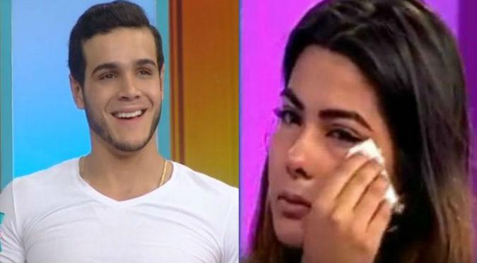 ¡Se divierte al máximo! Mira cómo Mario Irivarren se olvida de Ivana Yturbe - VIDEO