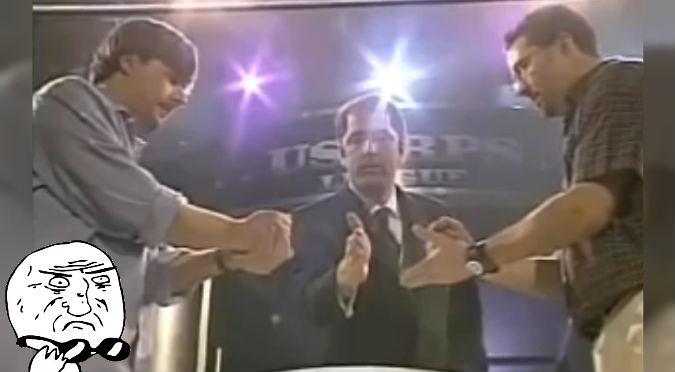 YouTube: Una final de 'piedra, papel o tijeras' fue transmitida en vivo por televisión
