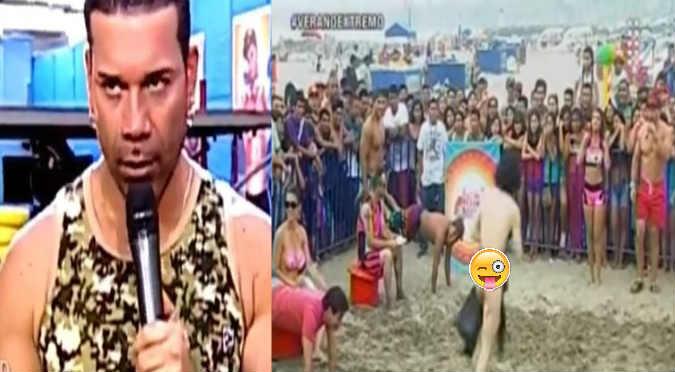 ¡Tremendo roche! Hombre desnudo se paseó por 'Verano Extremo'  - VIDEO