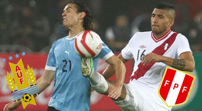 Perú cayó 1-0 ante Uruguay en Montevideo