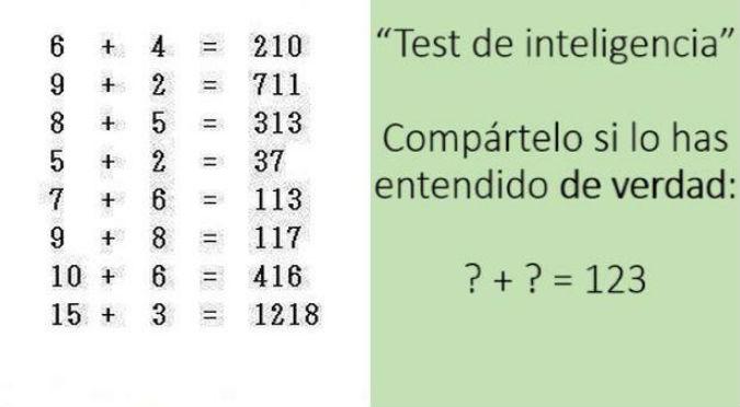 Facebook: ¿Puedes resolver este ejercicio matemático?