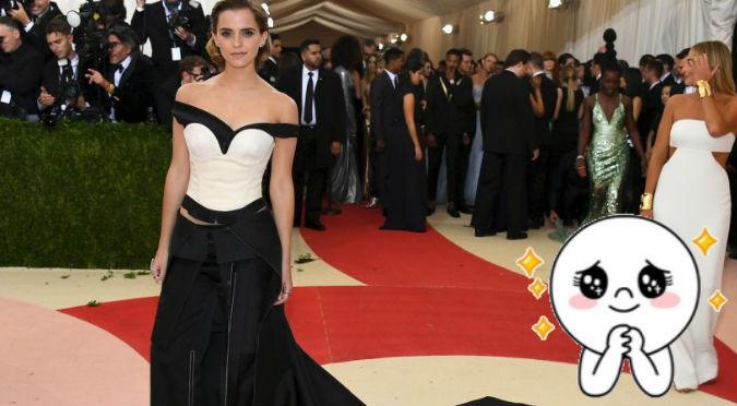 ¡Bellísima! Emma Watson lució encantadora con vestido hecho de botellas – FOTO