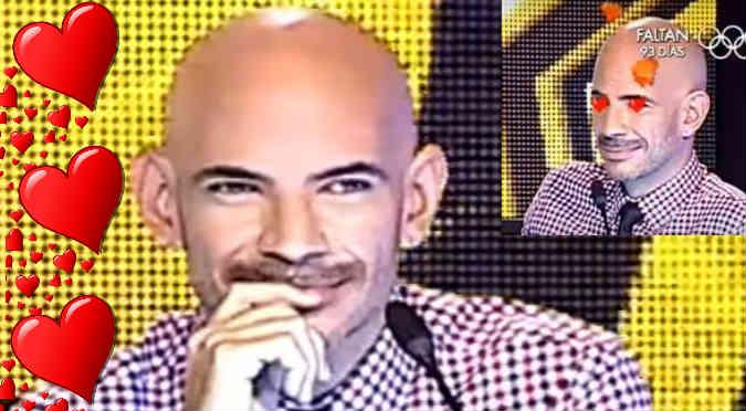 ¡Lo impresionó! Ricardo Morán quedó cautivado con el imitador de ... (VIDEO)