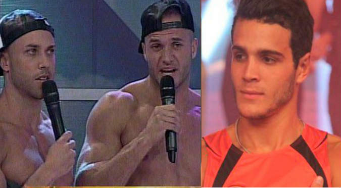 ¡Eso si dolió! Bruno y Fabio Agostini le recordaron a Mario Irivarren su traición a 'Combate' (VIDEO)