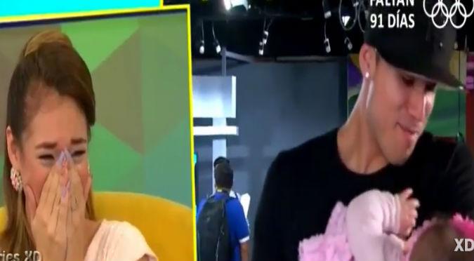¡Intenta no llorar! Esta fue la emotiva sorpresa que tuvo Jazmín Pinedo por el día de la madre (VIDEO)